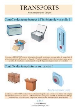 Transport sous temperature dirigee